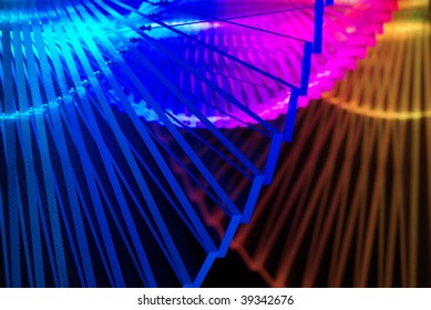 Abstract and colorful Light