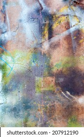 abstract colorful painted wallpaper texture