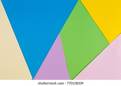 Abstract colorful pastel paper background.