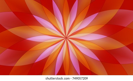 Abstract colorful psychedelic illustration background