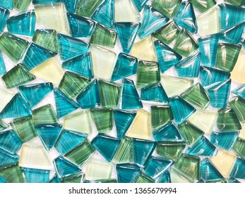 Abstract colorful tiled background.