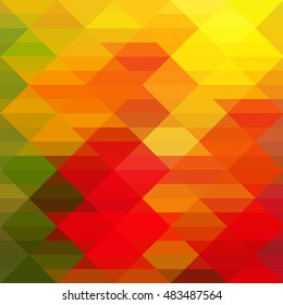 Abstract colorful Triangle Geometrical Illustration Modern Design mosaic