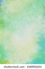 Abstract colorful Watercolor Paper Texture Background