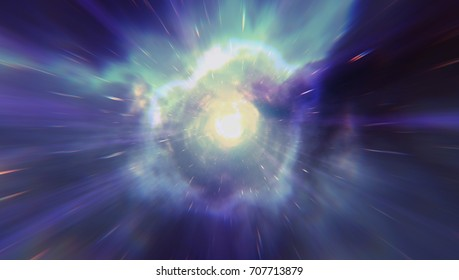 Abstract Colorful Wormhole
