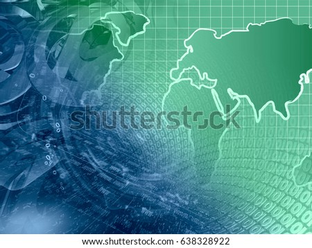 abstract computer background greens blues map stock photo edit now
