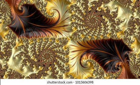 Abstract Computer generated Fractal design. A fractal is a never-ending pattern. Fractals are infinitely complex patterns that are self-similar across different scales. Great for cell phone wall paper