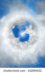 abstract, concept, background, seventh heaven, top of the world, cloud nine