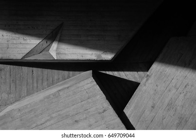 abstract concrete geometry