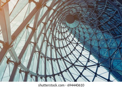 abstract construction window
