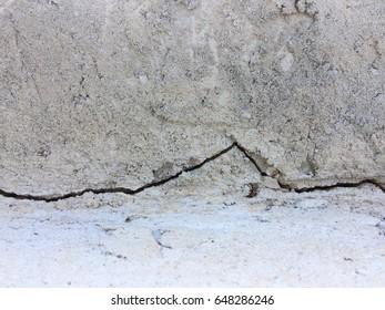 Abstract crack cement floor texture