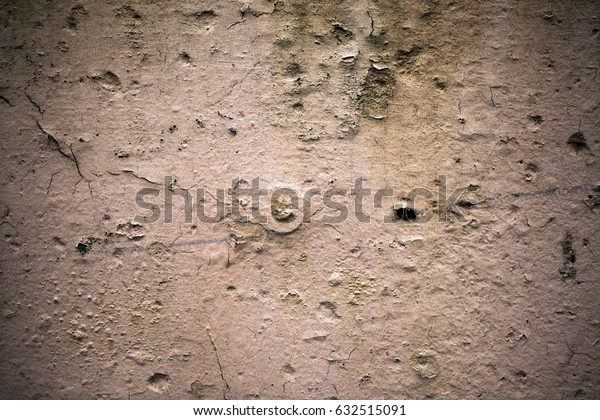 Abstract Cracked Wall Background