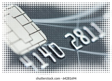 abstract credit card financial background