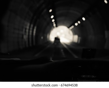 Abstract crossed process toned radius and motion blur background