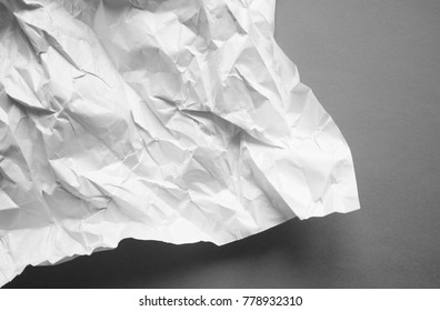 Abstract crumpled paper background