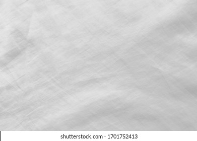 Abstract crumpled white and gray colors fabric texture background,rippled white silk fabric