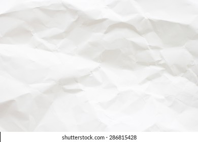 abstract crumpled white paper background texture concept