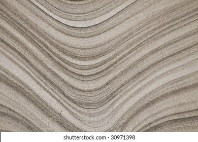 Abstract Curved Gray Sandstone Background