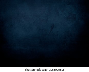 abstract dark blue background with canvas texture