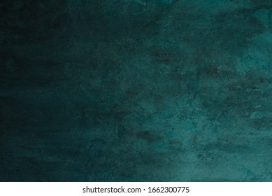 Abstract dark blue green color texture background with gradient