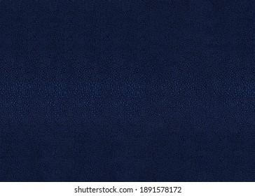 Abstract dark blue shagreen texture