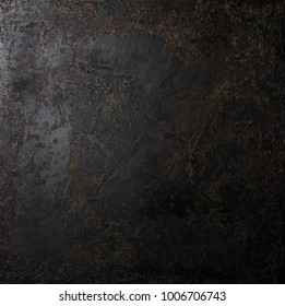 Abstract dark brown cement background, vintage grunge texture. Concrete.