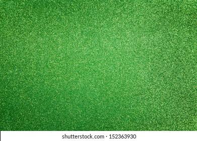 Abstract dark green glitter background
