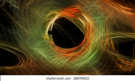 Abstract dark holey background