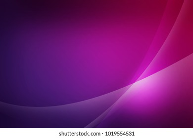 Abstract dark purple background of abstrack with curves wave line overlay. Purple light line curves effect abstract background style.