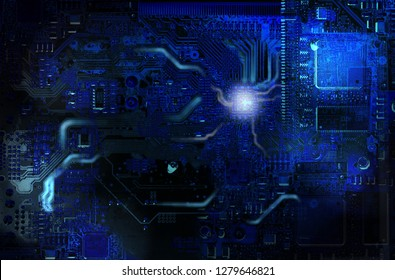 abstract IT data background