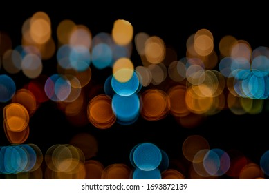 abstract decorative background with blurred  glitter