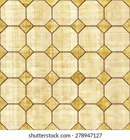 Abstract decorative panels - Interior Design wallpaper - retro vintage style - wall decorative tiles - seamless background - papyrus texture