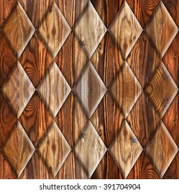Abstract decorative tiles - seamless background - wood surface - Interior Design wallpaper - Fine natural structure - Continuous replication - Repeating geometric pattern