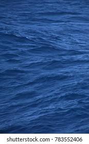Abstract deep blue of the Caribbean Sea off the coast of Aruba