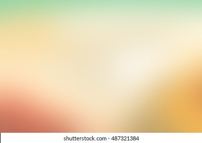 Abstract defocused colorful blurred background,Gold desert in sunset,Bright blur texture for web design