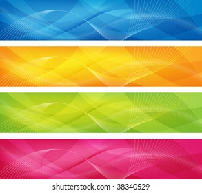 abstract design in 4 colors