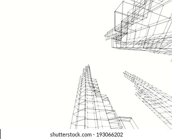abstract design architecture background