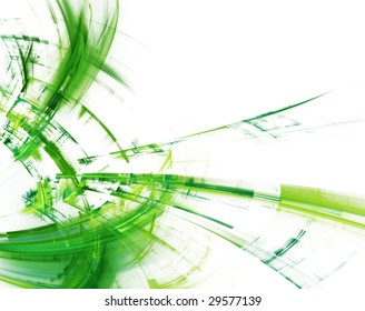 Abstract design. Available in blue, green and red colors on white and black backgrounds.