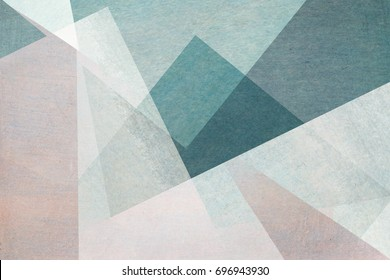 abstract design on blue background - textured paper with watercolors
