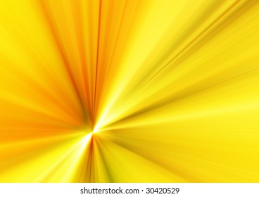 abstract design of yellow rays background