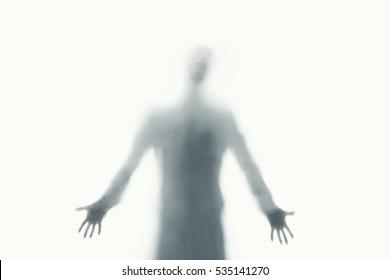 abstract desperate man spirit screaming