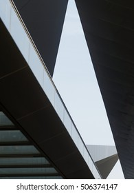 abstract detail of roof construction