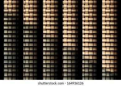 Abstract digital art background of rectangular shape
