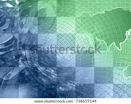 abstract digital background greens blues map stock photo edit now