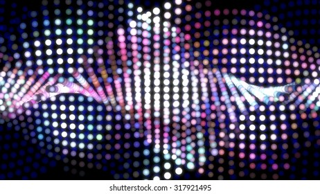 Abstract digital dot graph purple of background effect