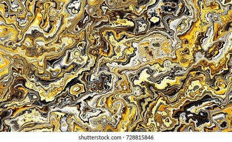 Abstract digital geometrical pattern. Horizontal orientation.  Imitation of marble texture.