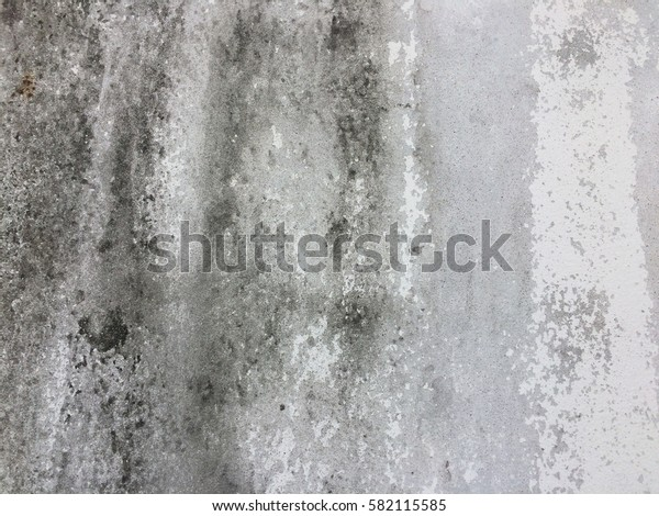 Abstract dirty white paint concrete wall background texture