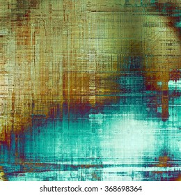 Abstract distressed grunge background. With different color patterns: yellow (beige); brown; blue; cyan; white