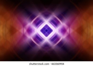 Abstract dynamic orange background