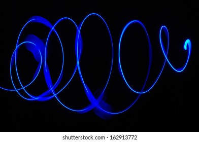"""Abstract effects made with """"paint with light"""" photo technique.(Useful for latter design work)"""