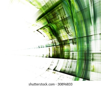 Abstract element. Available in red, green and blue colors on white and black background.